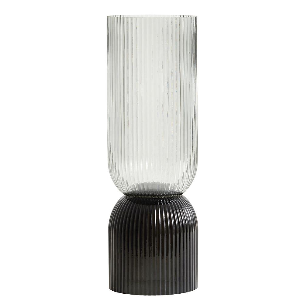 Vase schwarz/weiß